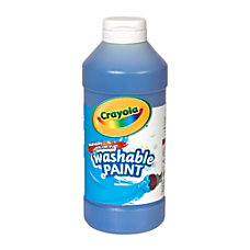 Crayola Washable Paint Blue 16 Oz