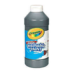 Crayola Washable Paint Black 16 Oz