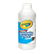 Crayola Washable Paint White 16 Oz