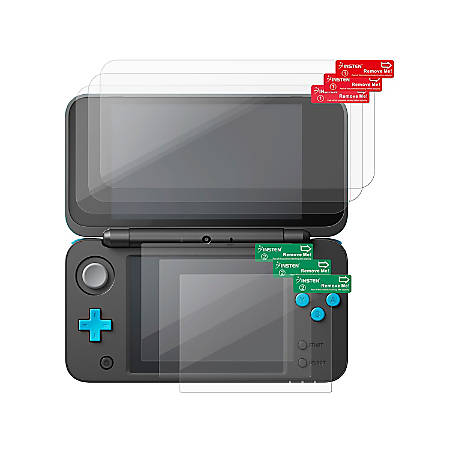 Insten Clear Screen Protector For New Nintendo 2DS XL, 3-Pack