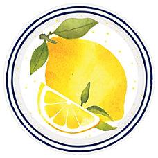 Amscan Spring Lemons Paper Plates 7