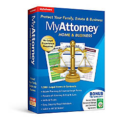 MyAttorney Home Business Traditional Disc