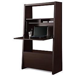 Secretary 4 Shelf Bookcase 60 13 16 H X 34