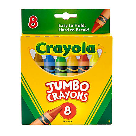 Crayola® So Big™ Extra Large Crayons, Assorted Colors, Box Of 8