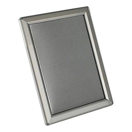 "Azar Displays Aluminum Vertical/ Horizontal Snap Frame, 5"" x 7"", Silver"