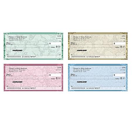 "Personal Wallet Checks, 6"" x 2 3/4"", Singles, Romance, Box Of 150"
