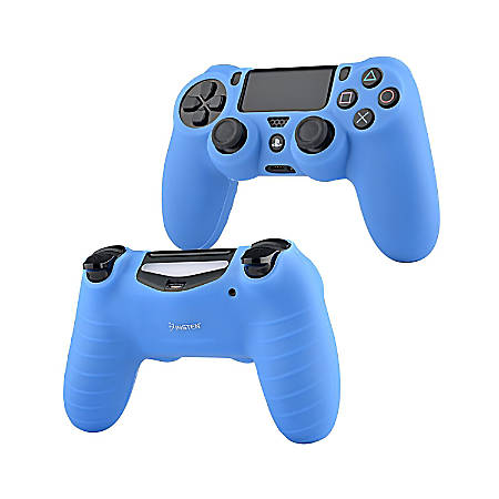 Insten Silicone Skin Case For Sony PlayStation 4 PS4 Controller, Blue