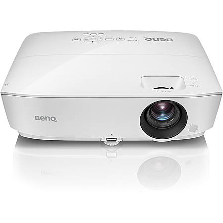 BenQ MH535FHD 3D Ready DLP Projector - 16:9 - White - 1920 x 1080 - Ceiling, Front - 1080p - 4500 Hour Normal Mode - 6000 Hour Economy Mode - Full HD - 15,000:1 - 3600 lm - HDMI - USB - 3 Year Warranty