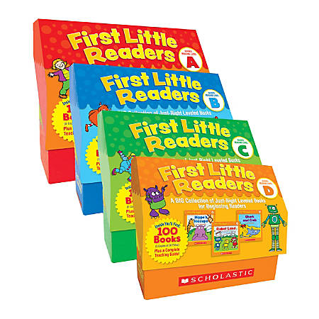 Scholastic® First Little Readers: A-D Super Classroom Set, Pre-K To 2nd Grade