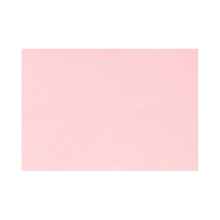 """LUX Flat Cards, A7, 5 1/8"""" x 7"""", Candy Pink, Pack Of 1,000"""