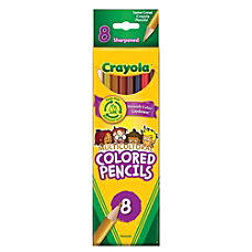 Crayola Multicultural Color Pencils Set Of