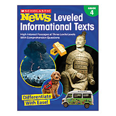 Scholastic News Leveled Informational Texts Activity