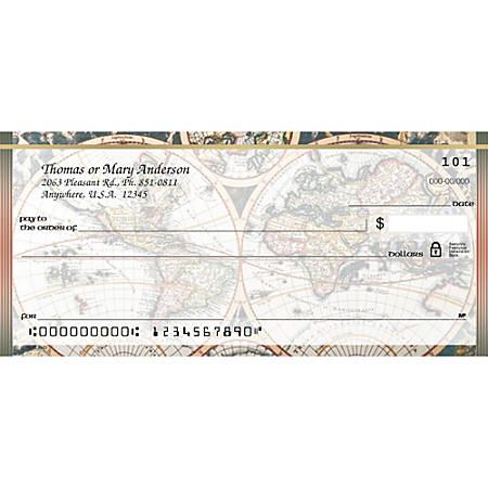 "Personal Wallet Checks, 6"" x 2 3/4"", Duplicates, Old World, Box Of 150"