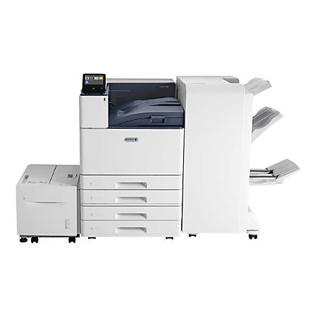 Xerox VersaLink C9000/DT - Printer - color - Duplex - laser - A3/Ledger - 1200 x 2400 dpi - up to 55 ppm (mono) / up to 55 ppm (color) - capacity: 1140 sheets - Gigabit LAN, USB host, NFC, USB 3.0