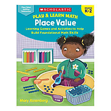 Scholastic Play Learn Math Place Value