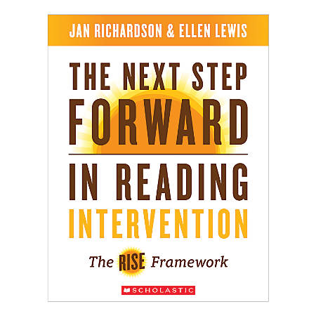 Scholastic The Next Step Forward In Reading Intervention Guide Book, Grades 1-8