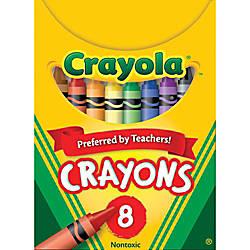 Crayola Standard Crayon Set Assorted Colors