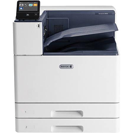 Xerox VersaLink C8000/DT - Printer - color - Duplex - laser - A3/Ledger - 1200 x 2400 dpi - up to 45 ppm (mono) / up to 45 ppm (color) - capacity: 1140 sheets - Gigabit LAN, USB host, NFC, USB 3.0