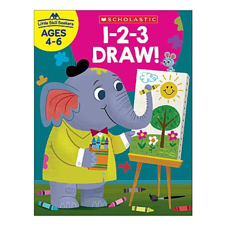 Scholastic® Little Skill Seekers: 1-2-3 Draw, Grades K - 2