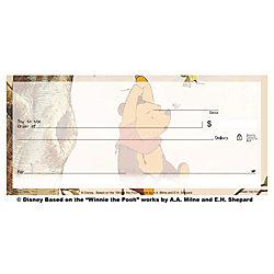 "Personal Wallet Checks, 6"" x 2 3/4"", Duplicates, Winnie The Pooh, Box Of 150"