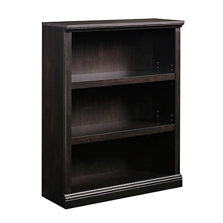 Sauder® Select Bookcase, 3 Shelf, Estate Black