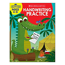 Scholastic Little Skill Seekers Handwriting Practice