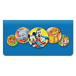 Personal Wallet Check Cover Disney Friends