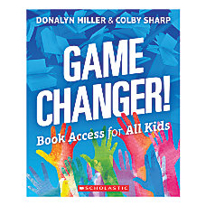 Scholastic Game Changer Book Access For
