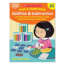 Scholastic Play Learn Math Addition Subtraction