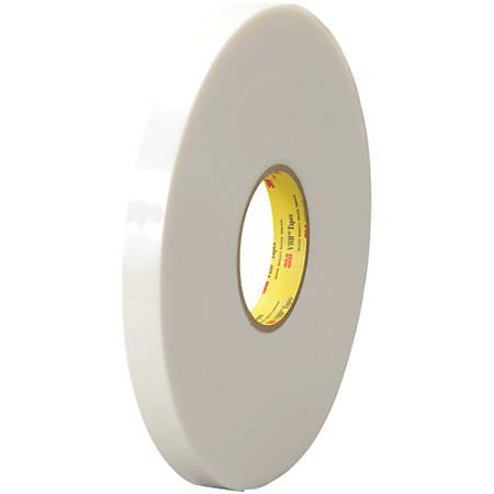"""3M™ VHB™ 4622 Tape, 1.5"""" Core, 0.75"""" x 5 Yd., White/Green"""