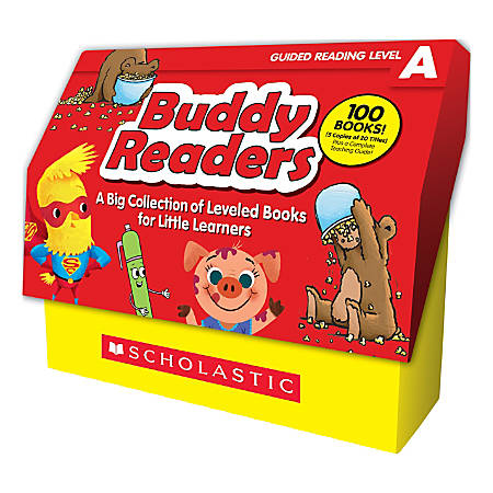 Scholastic Buddy Readers: Level A Books Class Set, Pre-K to 2nd Grade