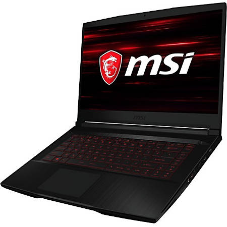 "MSI GF63 9SC 652 Thin - Core i5 9300H - Windows 10 Home - 8 GB RAM - 512 GB SSD NVMe - 15.6"" 1920 x 1080 (Full HD) - GF GTX 1650 - 802.11ac, Bluetooth - black"