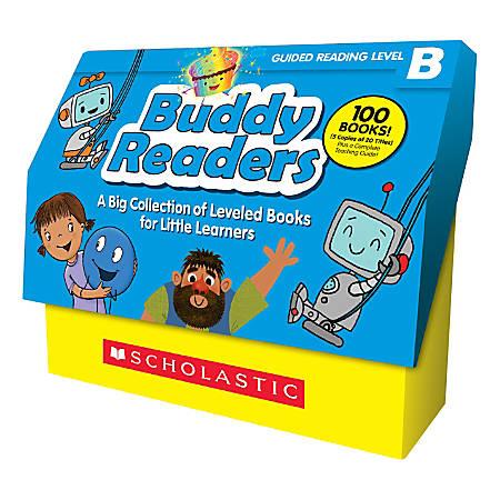 Scholastic® Buddy Readers: Level B Class Set, Pre-K To 2nd Grade, Set Of 100 Books