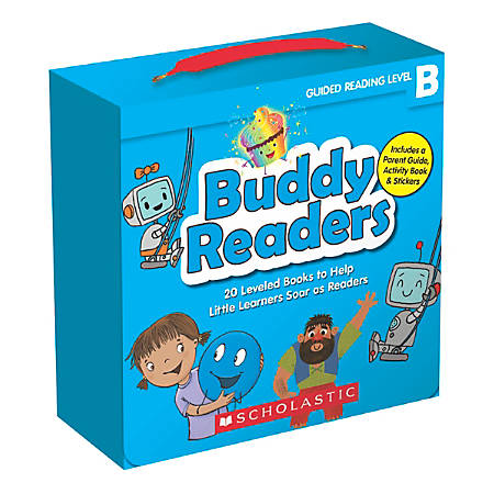 Scholastic Buddy Readers: Level B Books Parent Pack, Pre-K to 2nd Grade