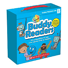 Scholastic Buddy Readers Level B Books
