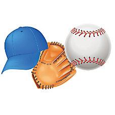 Eureka Paper Cutouts 5 Baseball Pre