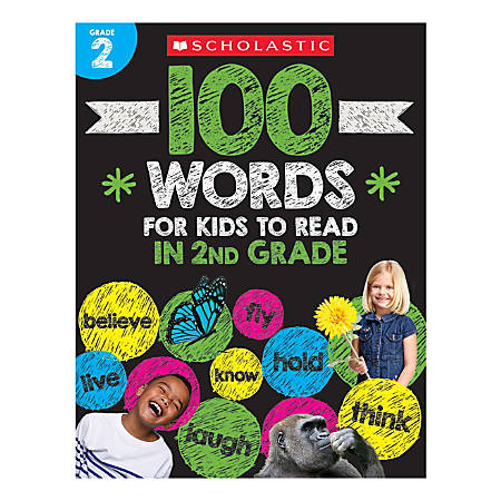 Scholastic® 100 Words For Kids To Read In Second Grade