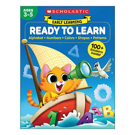 Scholastic® Early Learning: Ready to Learn Workbook, Preschool