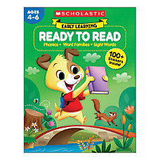 Scholastic Early Learning Ready To Read