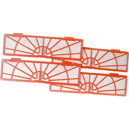 Neato Robotics Replacement Filter - Durable - 4 / Pack - Orange