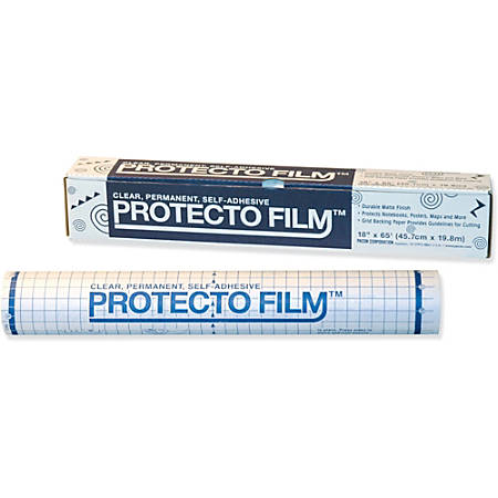 "Pacon® Clear Protecto Film, 18"" x 65'"