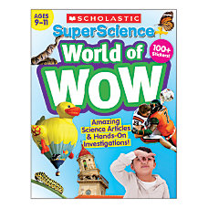 SuperScience World of WOW Ages 9