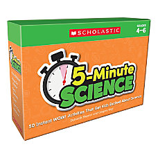 Scholastic 5 Minute Science Kit Grades
