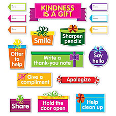 Scholastic Kindness Is A Gift Bulletin