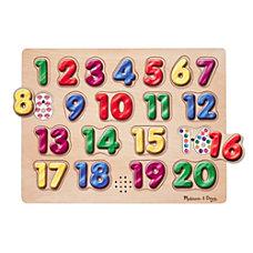Melissa Doug Spanish Numbers Sound Puzzle
