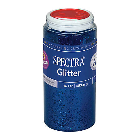 Pacon® Glitter, Shaker-Top Can, Blue