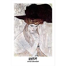 Retrospect Monthly Wall Calendar Gustav Klimt