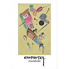 Retrospect Monthly Wall Calendar Kandinsky 19