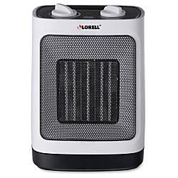 Lorell Adjustable Ceramic Heater Ceramic Electric