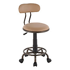 LumiSource Swift Industrial Task Chair CamelAntique